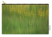 Wildflower Fields Abstract Carry-all Pouch