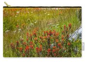 Wildflower Meadow With Indian Paintbrush Carry-all Pouch