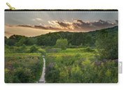 Wildflower Sunset 2016 Square Carry-all Pouch