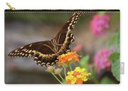 Wildflower Swallowtail Carry-all Pouch