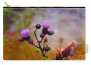 Wildflower Watercolour Carry-all Pouch