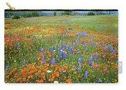 Wildflower Wonderland 4 Carry-all Pouch