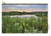 Wildflowers Adorn Nippersink Creek In Glacial Park Carry-all Pouch