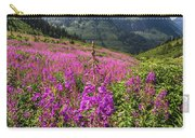 Wildflowers And A Glacier Carry-all Pouch