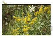Wildflowers And Bee Carry-all Pouch