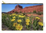 Wildflowers And Butte Carry-all Pouch