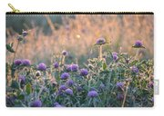 Wildflowers At Sunrise Carry-all Pouch