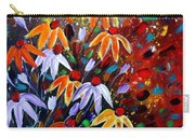 Wildflowers At Sunset Carry-all Pouch