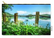 Wildflowers At The Lake In Spring Carry-all Pouch