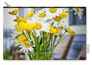 Wildflowers Bouquet At Cottage Carry-all Pouch by Elena Elisseeva