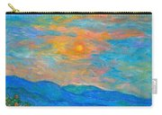 Wildflowers By A Blue Ridge Sunset Carry-all Pouch
