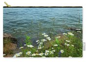 Wildflowers By The Lake  Carry-all Pouch