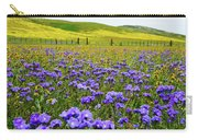 Wildflowers Carrizo Plain Carry-all Pouch