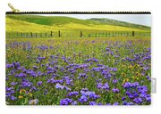 Wildflowers Carrizo Plain National Monument Carry-all Pouch