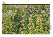 Wildflowers Glow In Setting Sun Light Carry-all Pouch