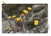 Wildflowers In Rocks Carry-all Pouch