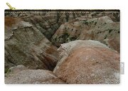 Wildflowers In The Badlands Carry-all Pouch