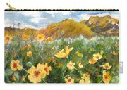 Wildflowers In The Desert Carry-all Pouch