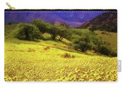 Wildflowers In The San Emigdio Mountains Carry-all Pouch