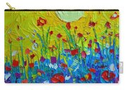 Wildflowers Meadow Sunrise Carry-all Pouch