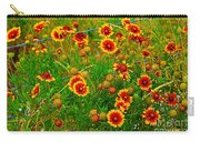 Wildflowers On The Barb Carry-all Pouch