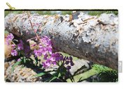 Wildflowers On The Fence Carry-all Pouch