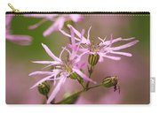 Wildflowers - Ragged Robin Carry-all Pouch