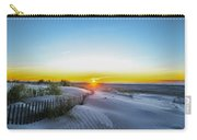 Wildwood Crest Dune Sunrise Carry-all Pouch