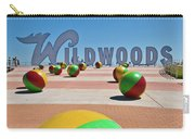 Wildwood's Sign, Wildwood, Nj Boardwalk . Copyright Aladdin Color Inc. Carry-all Pouch