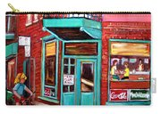 Wilenskys Cafe On Fairmount In Montreal Carry-all Pouch