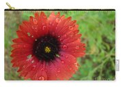 Wildflower Water Drops Carry-all Pouch