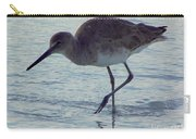 Willet In The Surf Carry-all Pouch