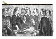 William Harvey Explaining Blood Carry-all Pouch
