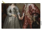 William II, Prince Of Orange, And His Bride, Mary Stuart Carry-all Pouch