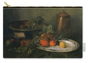 William Merritt Chase The Copper Urn Original Carry-all Pouch