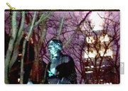 William Seward Statue And Empire State Bldg With Trees Carry-all Pouch