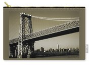 Old New York Photo - Williamsburg Bridge Carry-all Pouch