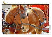 Williamsburg Carriage Horse Carry-all Pouch