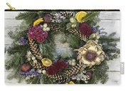 Williamsburg Wreath 10b Carry-all Pouch
