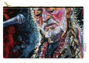 Willie Nelson Portrait Carry-all Pouch