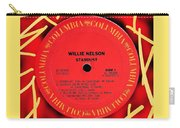 Willie Nelson Stardust Lp Label Carry-all Pouch