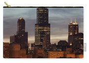Willis Tower At Dusk Aka Sears Tower Carry-all Pouch