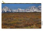 Willow Flats At Grand Teton Panorama Carry-all Pouch