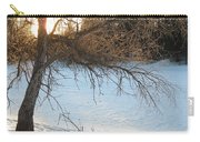 Willow Tree At Sunrise Carry-all Pouch