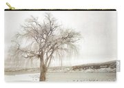Willow Tree In Winter Carry-all Pouch
