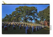 Wilmington National Cemetery Christmas Carry-all Pouch