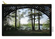 Wilson Pond Framed Carry-all Pouch