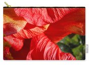 Wilting Hibiscus Two Carry-all Pouch