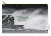 Wind And Waves In Oregon Carry-all Pouch