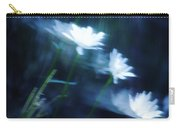 Wind Blown Daisies Carry-all Pouch by Barbara St Jean